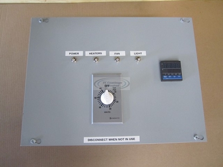 Control Box with Timer (control up to 8 heaters)